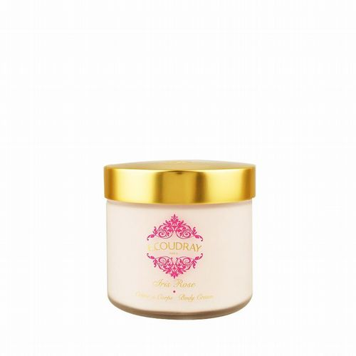 E Coudray - Rich Body Cream - Iris Rose 250ml